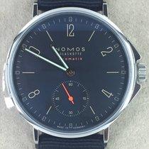 NOMOS Ahoi Neomatik Steel 36,30mm Blue Arabic numerals