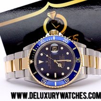 Rolex Submariner 16613 Blu Full Set Like new Just serviced
