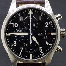 IWC Pilot Fliegeruhr Chronograph 43MM Steel Full Set 2013