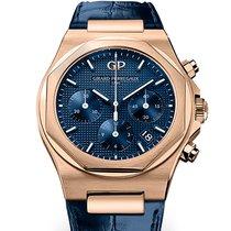 Girard Perregaux Laureato 81040-52-432-BB4A  Laureato Chrono  Oro Rosa Pelle Blu 38mm new
