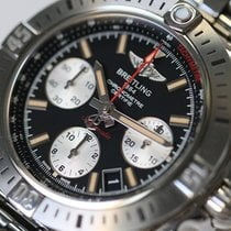 Breitling Chronomat 41 Acier 41mm Noir Sans chiffres France, Thonon les bains