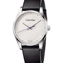 ck Calvin Klein 40mm Quarz neu Weiß