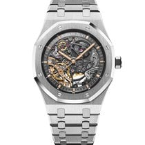 Audemars Piguet Royal Oak Double Balance Wheel Openworked 15407ST.OO.1220ST.01 new