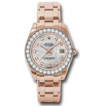 Rolex Lady-Datejust Pearlmaster 81285 mdp new