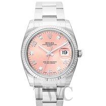 Rolex Datejust Date 34 Pink 18k White Gold/Steel 34mm - 115234