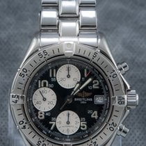 Breitling Colt Chronograph 39mm Automatic with Rare Long Bracelet