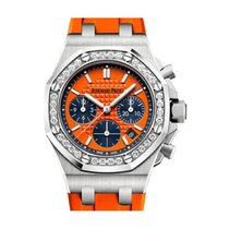 Audemars Piguet Royal Oak Offshore Lady Steel 37mm Orange No numerals United States of America, New York, New York