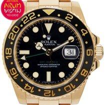Rolex 116718LN Oro amarillo GMT-Master II 40mm