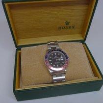 Rolex 16710 BLRO Сталь 1999 GMT-Master II 40mm подержанные