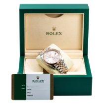 Rolex Datejust II Acero 41mm Champán Sin cifras