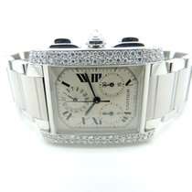 Cartier Tank Française pre-owned 36mm Steel