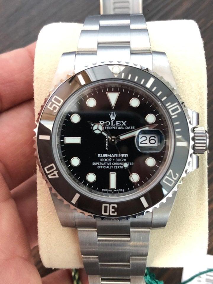 4d981f4bf80 Rolex Submariner - Todos os preços de relógios Rolex Submariner na Chrono24