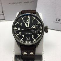 IWC Titanium Automatic Black Arabic numerals 46,2mm new Big Pilot