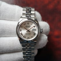 Rolex Lady-Datejust Steel 28mm Silver Roman numerals United States of America, Florida, Orlando