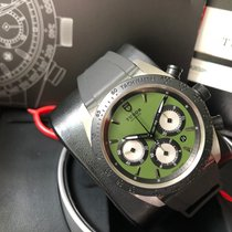 Tudor Fastrider Chrono Steel 42mm Green No numerals