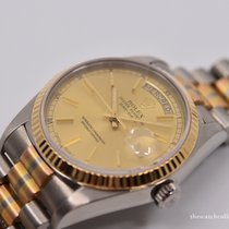 Rolex Day-Date 36 Or blanc