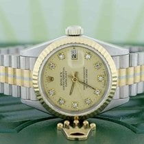 Rolex White gold 26mm Automatic 69179B pre-owned