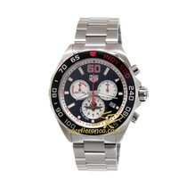 TAG Heuer Steel 43mm Quartz CAZ101V.BA0842 TAG HEUER Carrera Formula 1 US Indy new