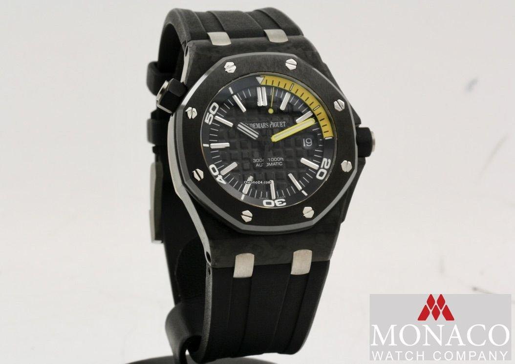 finest selection 7f55a 927ef Audemars Piguet Royal Oak Offshore Diver 42MM Carbon Full Set Like New