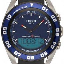 Tissot Sailing-Touch Stahl 45mm Blau
