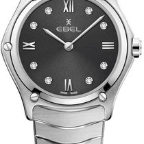Ebel Sport Steel 29mm Grey Roman numerals