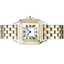 Cartier Panthère Gold/Steel 27mm White Roman numerals