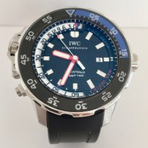 IWC Aquatimer Deep Two Stål 46mm Svart Inga siffror