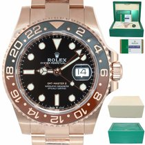 Rolex Rose gold Automatic Black 40mm new GMT-Master