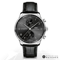 IWC Portuguese Chronograph IW371447 Unworn 40.9mm Automatic