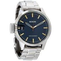 Nixon Acero 44mm Cuarzo A441-2076-00 nuevo