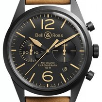 Bell & Ross BR V1 Сталь 41mm Черный