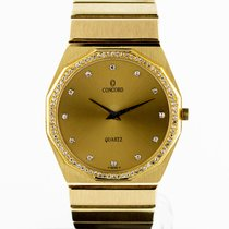 Concord 37mm Quartz tweedehands Mariner Goud