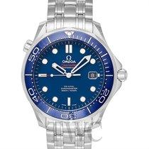 オメガ (Omega) Seamaster Diver 300m Co-Axial 41mm Blue Steel -...