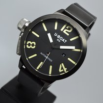 U-Boat Classico 53mm Left Hook IFO Black PVD with 1 year warranty