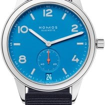 NOMOS Club Automat Datum Steel 41.5mm Blue United States of America, New York, Airmont