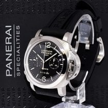 Panerai 275 Luminor GMT 8 Day Monopulsante Steel Chronograph...