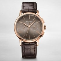 Zenith Red gold new Elite Chronograph Classic