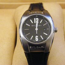 Bulgari Ergon Steel 30mm Black
