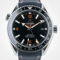 Omega Seamaster Planet Ocean GMT 600M, SS, Box and Papers