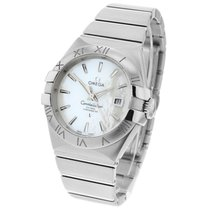 Omega Constellation Ladies Steel 31mm Mother of pearl Roman numerals United Kingdom, London