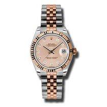 Rolex Lady-Datejust nuevo Reloj con estuche y documentos originales 178271 pchdj