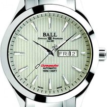 Ball Engineer II Chronometer Red Label Stahl 43mm Weiß