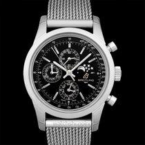 Breitling Transocean Chronograph 1461 Acero 43.00mm Negro