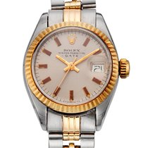 Rolex , LADIES' TWO-TONE DATE, REF. 6917