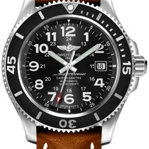 Breitling Chronometer 42mm Automatic new Superocean II 42 Black