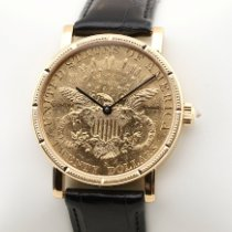 Corum Coin Watch Oro amarillo 36mm