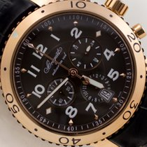 Breguet pre-owned Automatic 42mm Brown Sapphire crystal 10 ATM