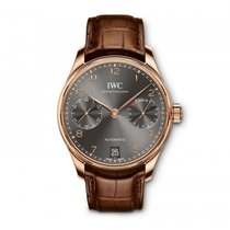 IWC Rose gold Automatic 42.3mm new Portuguese Automatic