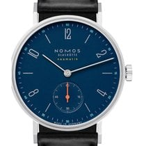 NOMOS Tangente Neomatik Steel 35mm Blue