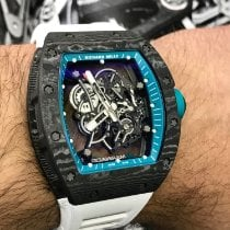Richard Mille 49.9mm Manuale Richard Mille RM055 Yas Marina nuovo